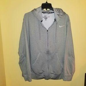 Nike Therma-Fit Grey Hoodie Jacket XL